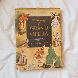 Grand Opera Art Coffee Table Book